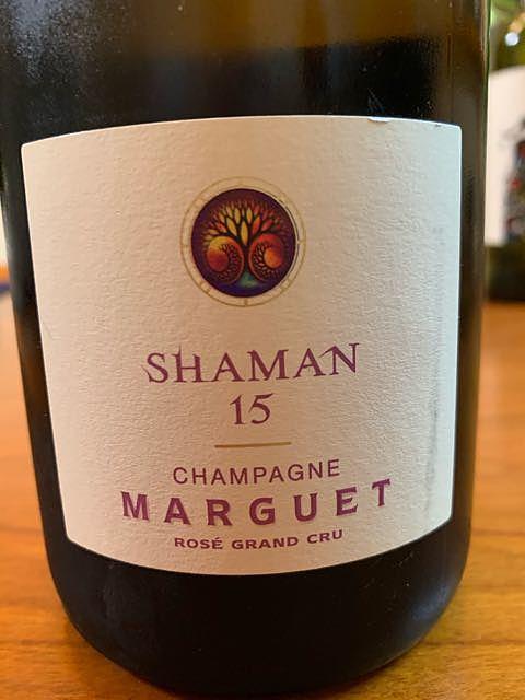 Champagne Marguet Shaman 15 Rosé(シャンパーニュ・マルゲ シャーマン ロゼ)