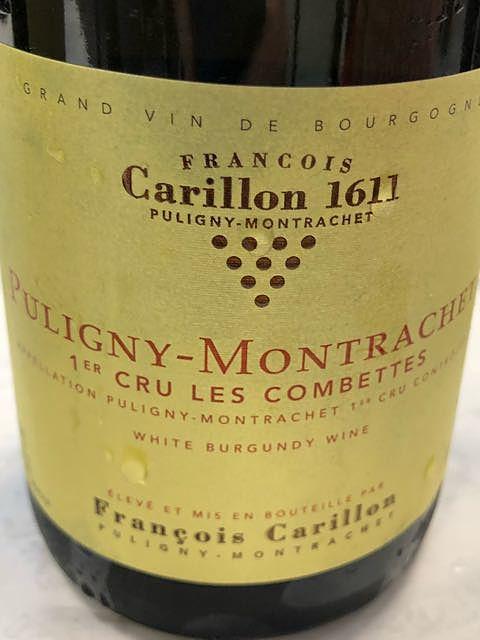 François Carillon Puligny Montrachet 1er Cru Les Combettes