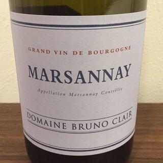 Dom. Bruno Clair Marsannay Blanc(ドメーヌ・ブリュノ・クレール マルサネ・ブラン)