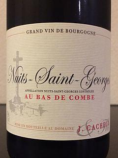 J. Cacheux Nuits Saint Georges Au Bas de Combe(ジャック・カシュー ニュイ・サン・ジョルジュ オー・バ・ド・コンブ)