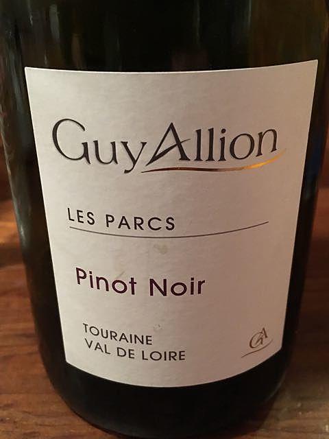Guy Allion Les Parcs Pinot Noir
