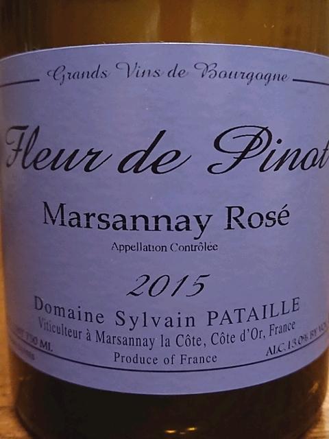 Dom. Sylvain Pataille Fleur de Pinot Marsannay Rosé