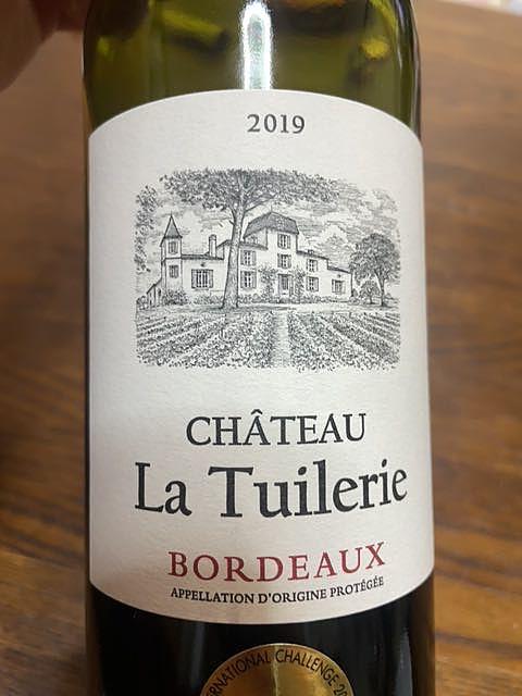 Ch. La Tuilerie Bordeaux Rouge(シャトー・ラ・チュイルリー ボルドー ルージュ)