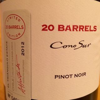 Cono Sur 20 Barrels Pinot Noir