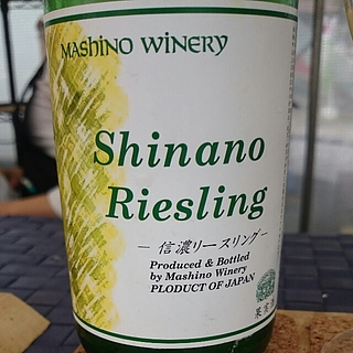 Mashino Winery Shinano Riesling