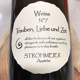 Strohmeier Trauben, Liebe und Zeit Weiss N°7