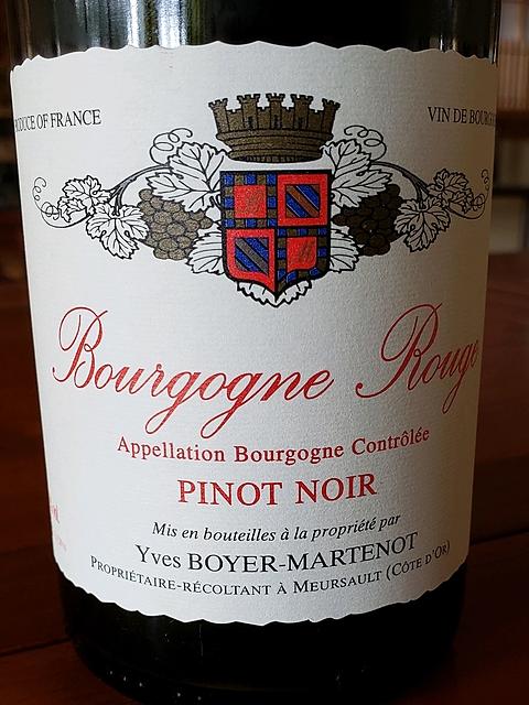 Yves Boyer Martenot Bourgogne Rouge(イヴ・ボワイエ・マルトノ ブルゴーニュ ルージュ)