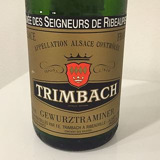 Trimbach Gewürztraminer Cuvée des Seigneurs de Ribeaupierre(トリンバック ゲヴェルツトラミネル キュヴェ・デ・セニャー・ド・リボピエール)