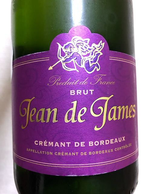 Jean de James Crémant de Bordeaux Brut