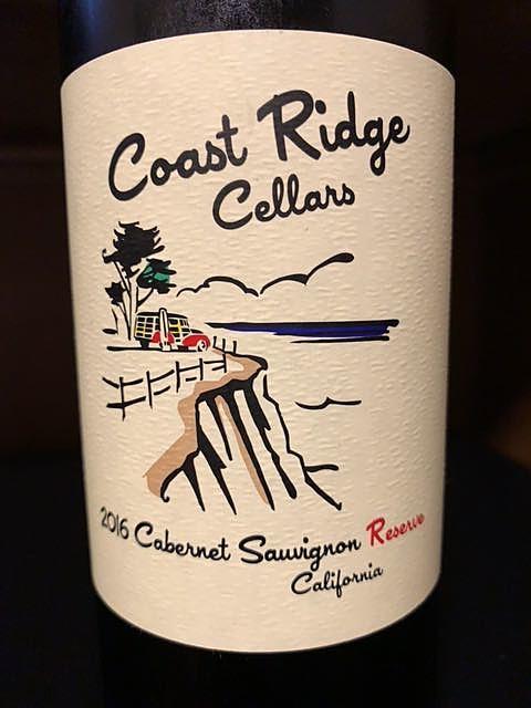 Coast Ridge Cellars Cabernet Sauvignon Reserve(コースト・リッジ・セラーズ カベルネ・ソーヴィニヨン リザーヴ)