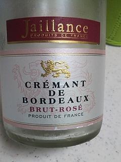 Jaillance Crémant de Bordeaux Brut Rosé