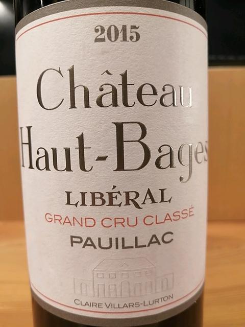 Ch. Haut Bages Libéral(シャトー・オー・バージュ・リベラル)