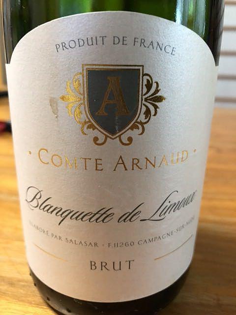Comte Arnaud Blanquette de Limoux Brut(コント・アルノー ブランケット・ド・リムー ブリュット)