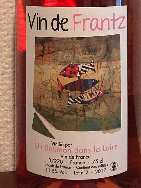 Vin de Frantz Rosé 2017(ヴァン・ド・フランツ ロゼ)
