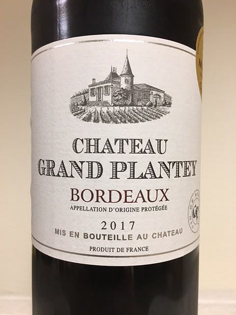 Ch. Grand Plantey Rouge