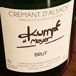 Kumpf et Meyer Crémant d'Alsace Brut