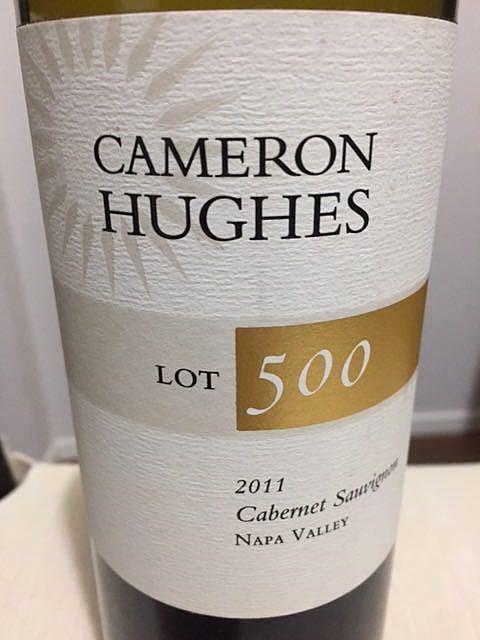 Cameron Hughes Lot 500 Napa Valley Cabernet Sauvignon(キャメロン・ヒューズ ロット 600 ナパ・ヴァレー カベルネ・ソーヴィニヨン)