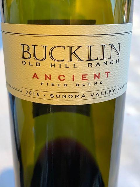 Bucklin Old Hill Ranch Ancient 2016(バックリン オールド・ヒル・ランチ エインシェント)