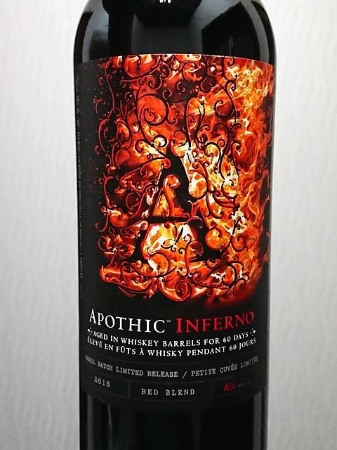 Apothic Inferno(アポシック インフェルノ)