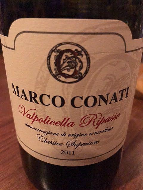 Marco Conati Valpolicella Ripasso Classico Superiore(マルコ・コナティ ヴァルポリチェッラ リパッソ クラッシコ スペリオーレ)
