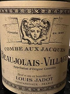 Louis Jadot Beaujolais Villages Combe Aux Jacques