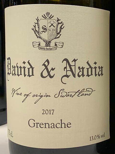 David & Nadia Grenache