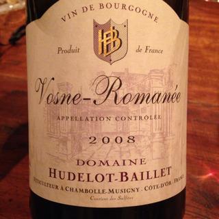 Dom. Hudelot Baillet Vosne Romanée