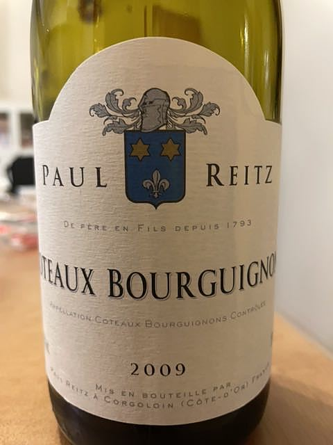 Paul Reitz Coteaux Bourguignon(ポール・リッツ コトー・ブルギニヨン)