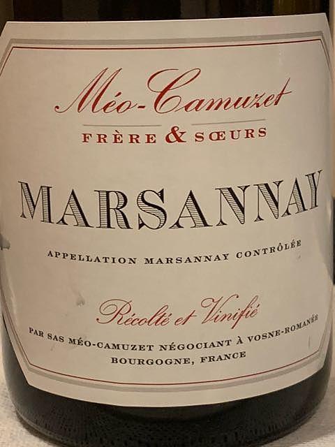 Méo Camuzet F&S Marsannay Rouge
