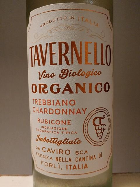 Tavernello Organic Trebbiano Chardonnay