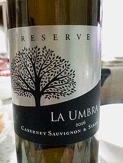 La Umbra Cabernet Sauvignon & Syrah Reserve(ラ・アンブラ カベルネ・ソーヴィニヨン シラー リザーヴ)