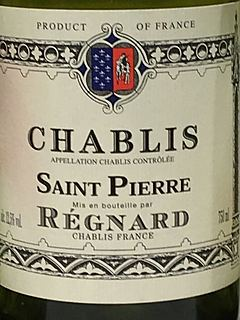 Régnard Chablis Saint Pierr