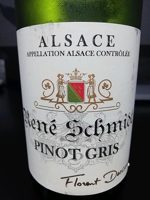 René Schmidt Pinot Gris(ルネ・シュミット ピノ・グリ)