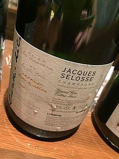 Jacques Selosse Lieux Dits Cramant Cheim de Chalons