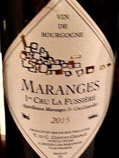 Y. et C. Contat Grangé Maranges 1er Cru La Fussière(イヴォン・エ・シャンタル・コンタ・グランジェ マランジュ プルミエ・クリュ ラ・フュシエール)
