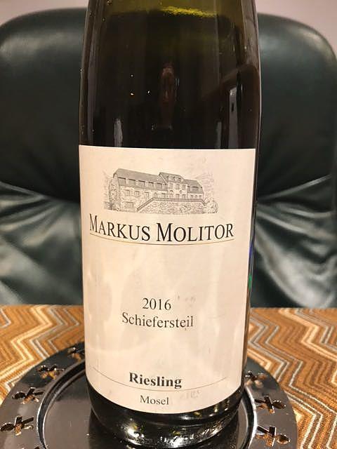 Markus Molitor Schiefersteil Riesling(マルクス・モリトール リースリング)