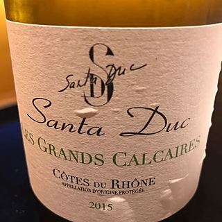 Santa Duc Côtes du Rhône Les Grands Calcaires