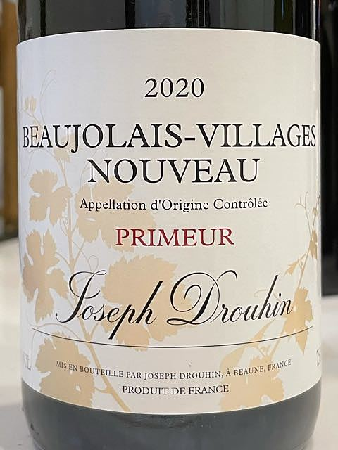 Joseph Drouhin Beaujolais Villages Nouveau Primeur