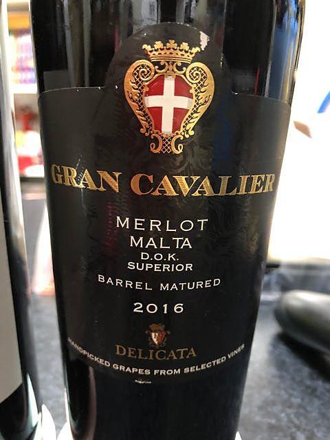 Delicata Gran Cavalier Merlot Superior(デリカッタ グラン・カヴァリエ メルロー スーペリオール)