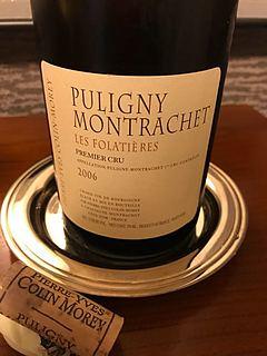 Pierre Yves Colin Morey Puligny Montrachet 1er Cru Les Folatières(ピエール・イヴ・コラン ピュリニィ・モンラッシェ プルミエ・クリュ レ・フォラティエール)