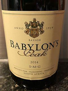 Babylon's Peak SMG