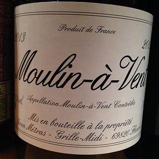 Dom. Yvon Métras Moulin á Vent
