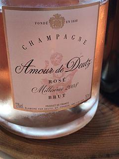 Champagne Amour de Deutz Brut Rosé