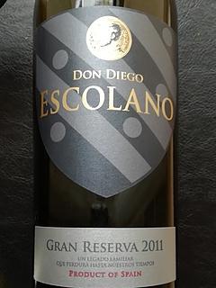 Don Diego Escolano Gran Reserva