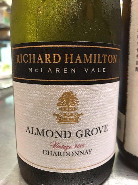 Richard Hamilton Almond Grove Chardonnay(リチャード・ハミルトン アーモンド・グローヴ シャルドネ)