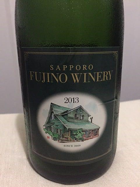 Sapporo Fujino Winery Mikino Hotori ナチュラル・スパークリング 2013