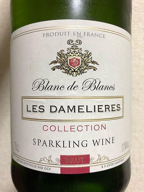 Les Damelieres Collection Blanc de Blanc Brut Sparkling(レ・ダムリエール コレクション ブラン・ド・ブラン ブリュット スパーリング)