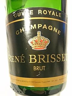 René Brisset Brut Cuvée Royale(ルネ・ブリッセ ブリュット キュヴェ・ロワイヤル)