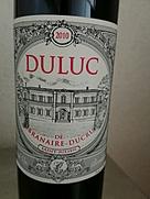 デュリュック・ド・ブラネール・デュクリュ(2010)
