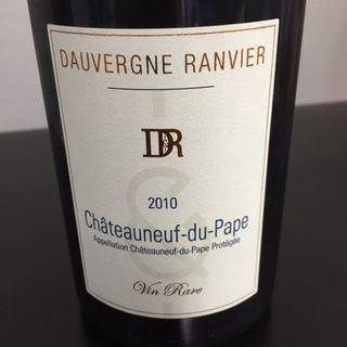 Dauvergne Ranvier Châteauneuf du Pape Rouge Vin Rare